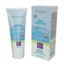 Bioearth - Aloebase Sensitive - Crema Protettiva All' Ossido di Zinco