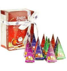 English Tea Shop - Red Santa Christmas Prism