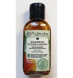 Le Erbe di Janas - Mini Shampoo Fico D'India e Rosmarino