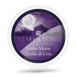 Heart & Home - Candela in cera di soia - Violet Moon