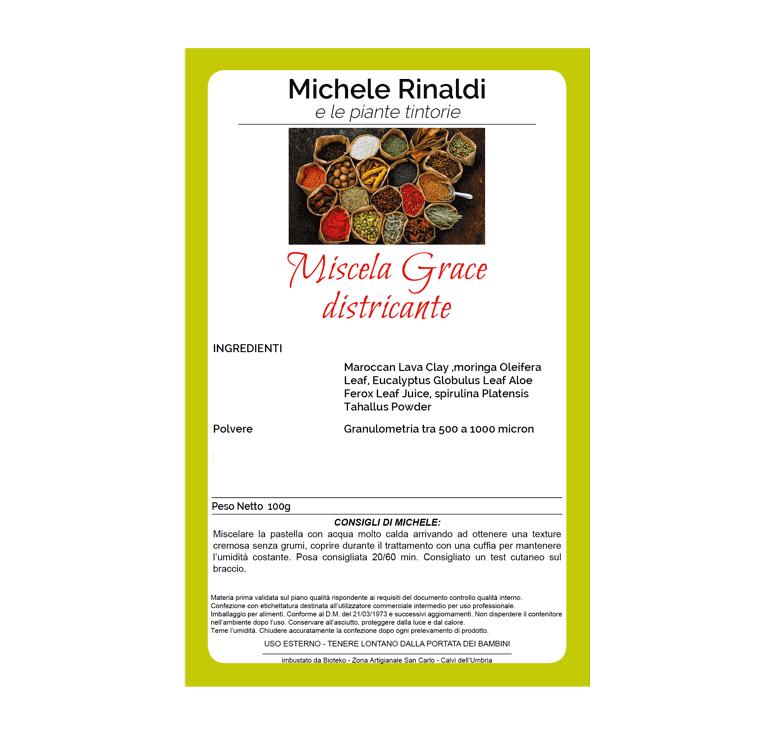 Michele Rinaldi - Miscela Grace (districante)
