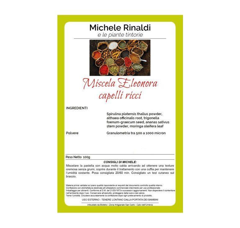 Michele Rinaldi - Miscela Eleonora (capelli ricci)
