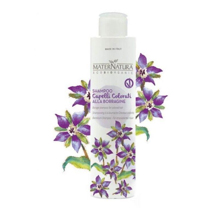 Maternatura - Shampoo Capelli Colorati alla Borraggine