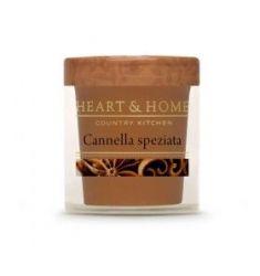Heart & Home - Candela in cera di soia - Cannella Speziata
