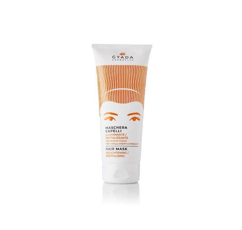 Gyada Cosmetics - Maschera Capelli Illuminante e Rivitalizzante