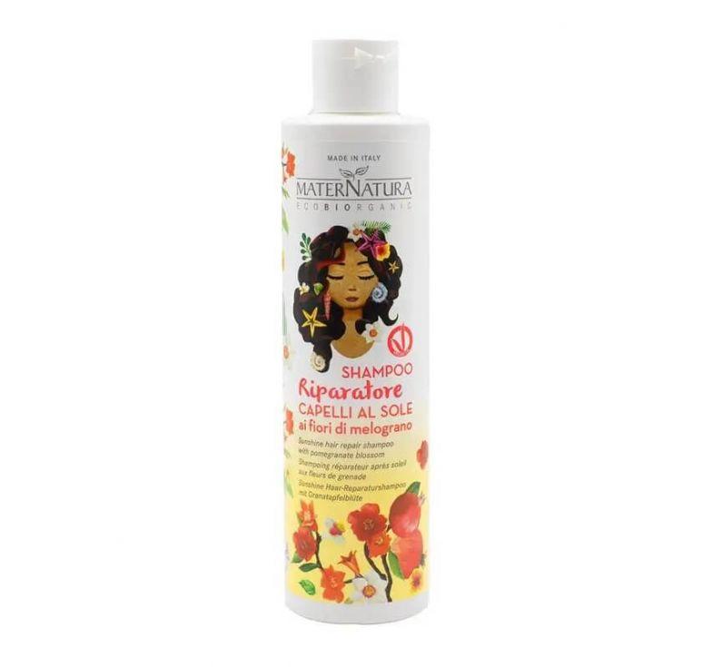 Maternatura - Shampoo Riparatore Capelli al Sole ai Fiori di Melograno