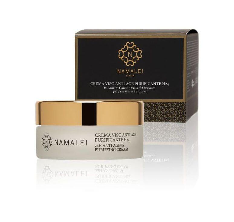 Namalei - Crema Viso Anti-Age Purificante H24