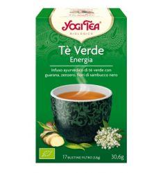 Yogi Tea Tè Verde Energia