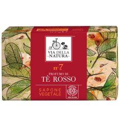 Via Della Natura - Sapone Vegetale - Tè Rosso