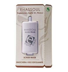 Esprit Equo - Maschera Viso Esfoliante Rhassoul (Scrub Mask) Monodose